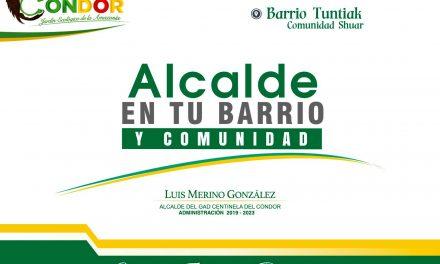 ALCALDE EN TU BARRIO Y COMUNIDAD.