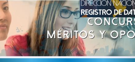Invitación de la DINARDAP – Concurso publico de Méritos y Oposición- Registradores/as de la Propiedad