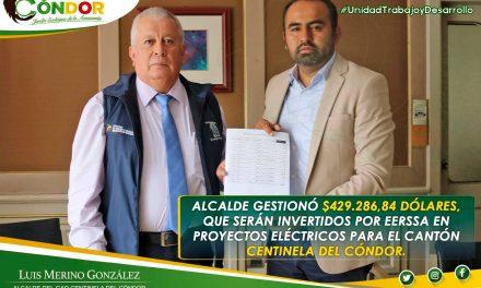 10 PROYECTOS DE ELECTRIFICACIÓN  BENEFICIAN A SECTORES  DE CENTINELA DEL CÓNDOR.